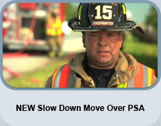 NEW Slow Down Move Over PSA